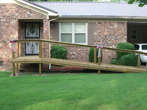 62 best images about build a wheelchair ramp on pinterest. Black Bedroom Furniture Sets. Home Design Ideas
