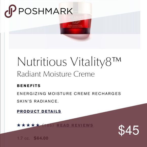 Estée Lauder nutritious radiant moisture cream Brand new ! 50 ML. Gift with purchase Estee Lauder Makeup