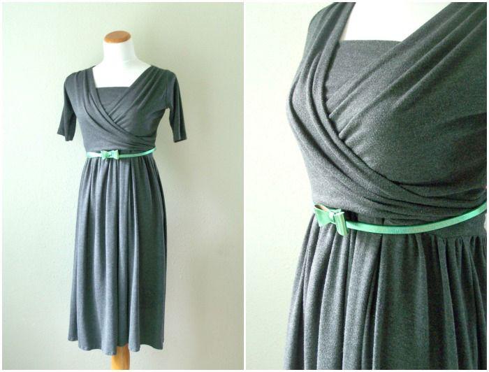 Freebook Kleid mit Stilloberteil Gr. 34/36