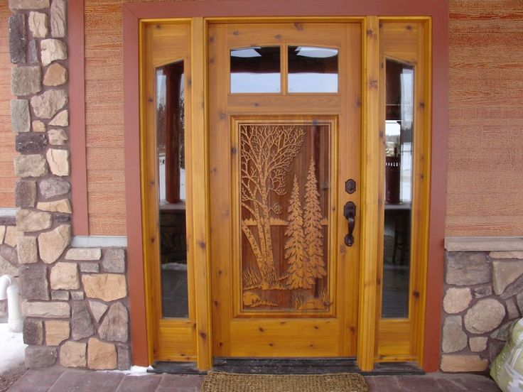 Great river door company inc residential carved doors for Residential wood doors