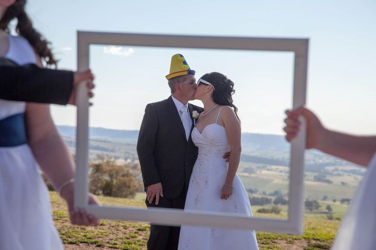Candid Photos of a Lifetime - The bride & groom framed  www.candidphotosofalifetime.com.au