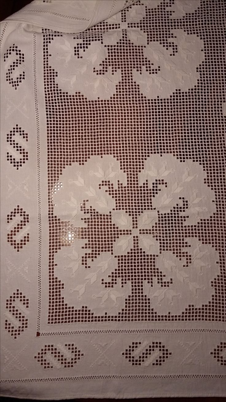 Tablecloth detail