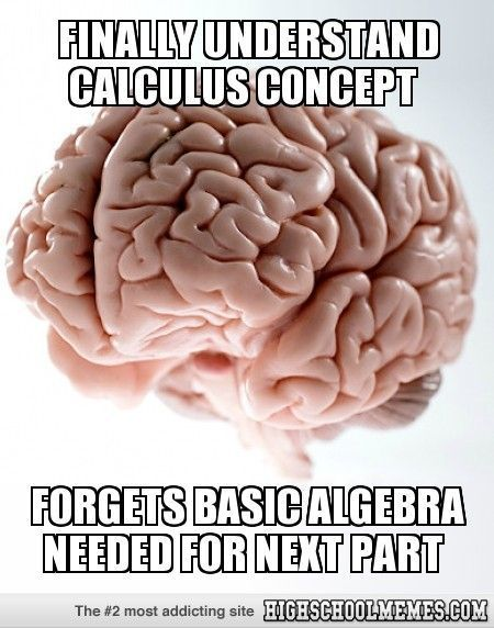 Finally understand calculus concept haha