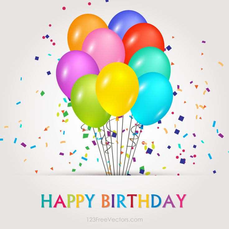 298 Best Images About Happy Birthday Balloons On Pinterest