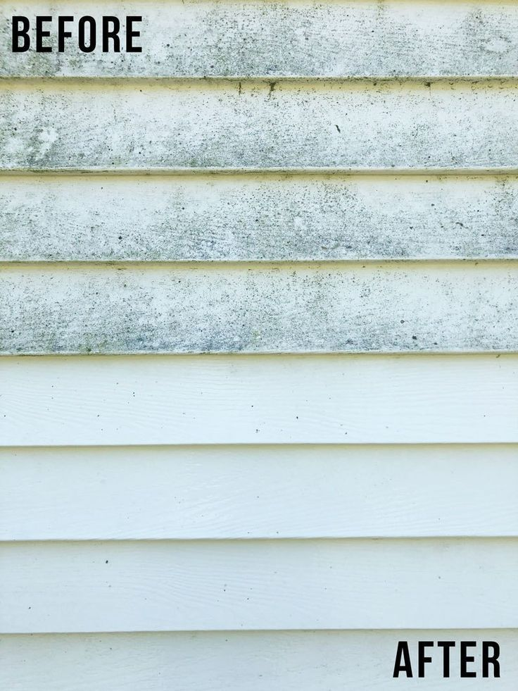How To Clean Vinyl Siding Home Exterior Cleaning Nikki S Plate Cleaning Vinyl Siding Vinyl Siding Cleaning Aluminum Siding