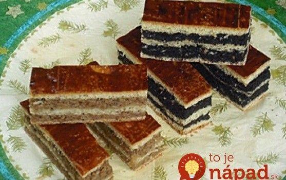 "Starodávny slávnostný koláč ""Závinovník"", s náplňou makovou aj orechovou: Takéto fantastické kysnuté cesto som ešte neochutnala!"