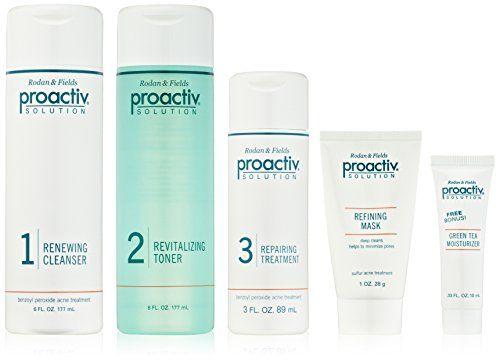 Proactive acne treatmen