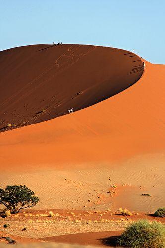 ˚Dune 45 - Sossusvlei, Namibia, Africa