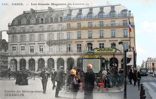 Paris, place Palais Royal, pas très loin du Louvre (Crédit Image : Golem 13)