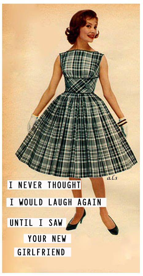 retro funny....