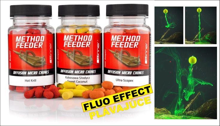 Ideálna návnada o rozmere 7x11mm na veľmi prechytané vody pre method feeder. Okamžitý Diffusion - Double Efekt.  Ideálne naviazať na krátky nadväzec so zarážkou, alebo ho naviažeme na ihlu za pomoci predvŕtania.