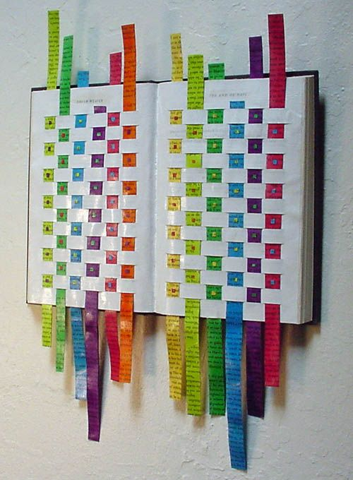 17 best ideas about waste material craft on pinterest for Waste paper wall hanging