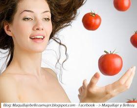 MASCARILLAS DE TOMATE - PIEL BELLA Y RADIANTE : Maquillaje, Belleza y Moda para la Mujer