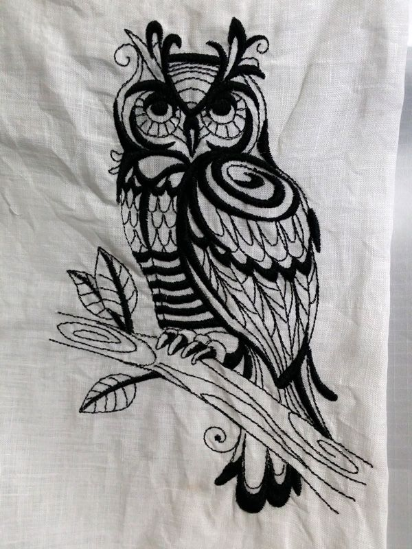 Owl.....Embroidery designs