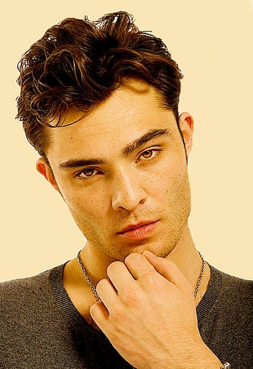 Ed Westwick, you can be my Chuck Bass any day.