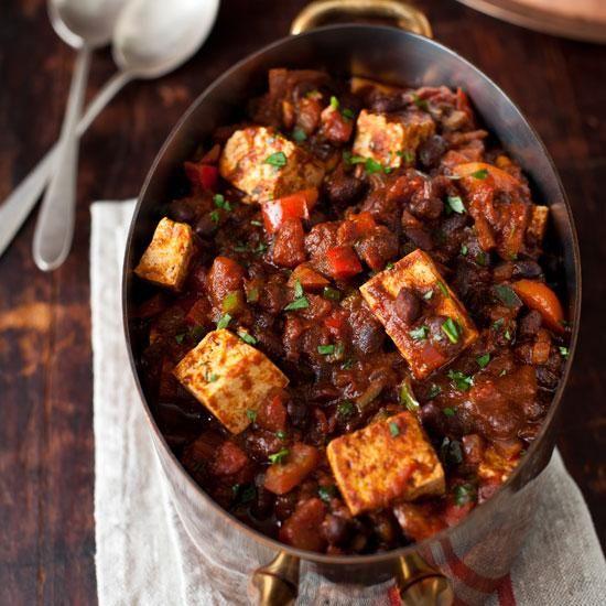 tofu spicy chili seasonings work wonders for the bland flavor of tofu ...
