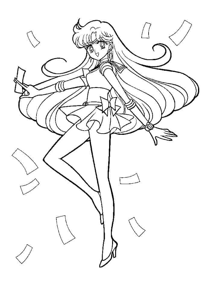 Sailor Moon Christmas Coloring Pages Sailor Moon Coloring Pages Moon Coloring Pages Coloring Pages