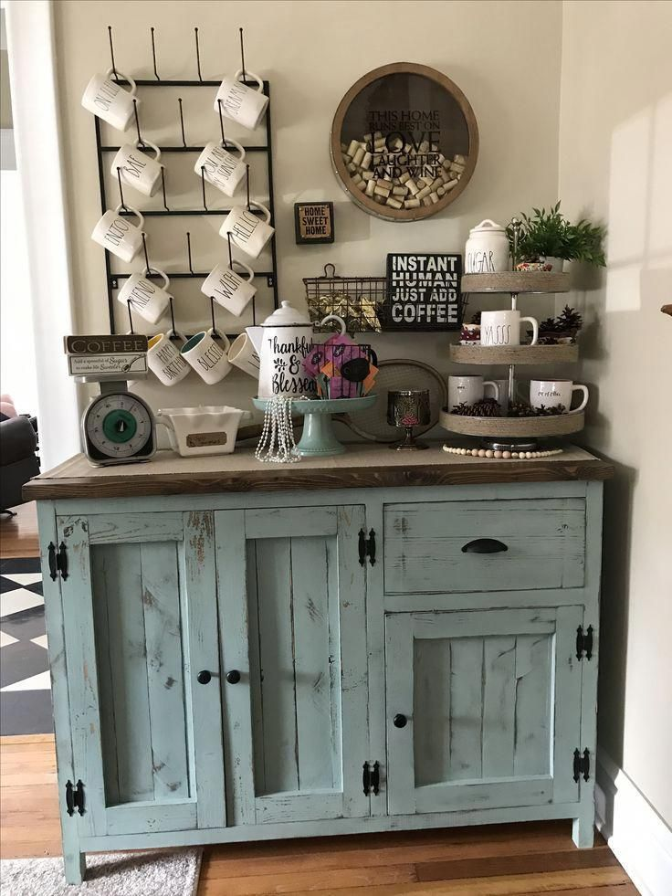 Amazing vintage coffee bar ideas for the home coffeebar