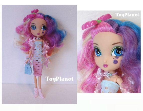 OOAK Custom La Dee Da Doll New Pink & Baby-Blue Dress by TOYPLANET