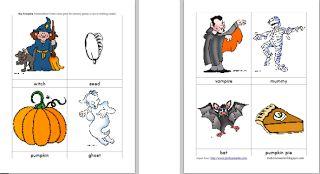 "Halloween Favorite~ ""Big Pumpkin"" with printables"
