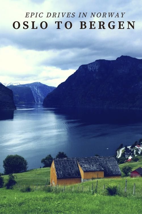 Rather than taking the Norway in a Nutshell Train trip, we opted to drive between Oslo and Bergen.  Here is our guide and helpful tips for seeing the most beautiful fjords and waterfalls along the way.  | Norway Travel |