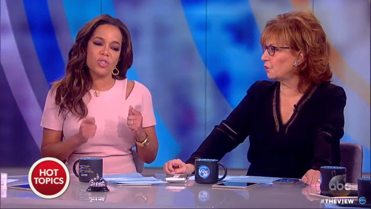 'The View's' Sunny Hostin Rails Against Trump for 'Exploiting' SEAL's Widow