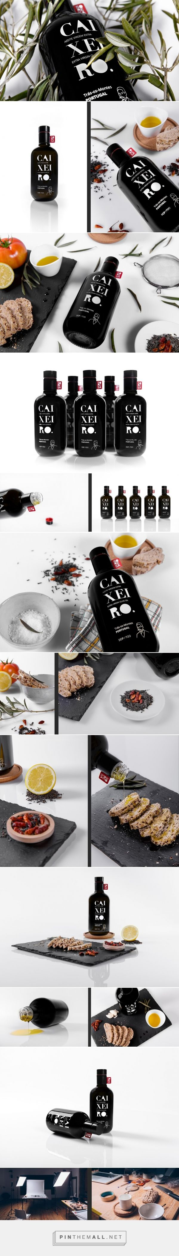 Caixeiro Olive Oil packaging design - http://www.packagingoftheworld.com/2016/05/caixeiro-olive-oil.html