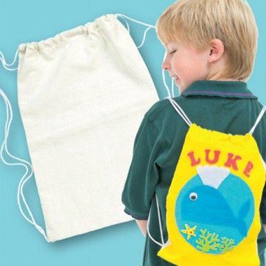 Design a Drawstring Backpack