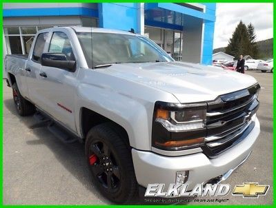 2017 Chevrolet Silverado 1500 2LT RED LINE EDITION DBL Cab 4x4 MSRP $48905 NOW $10500 OFF or $389 Lease w/Chevy Loyalty! Red Line Edition Z71 4x4 Dbl Cab