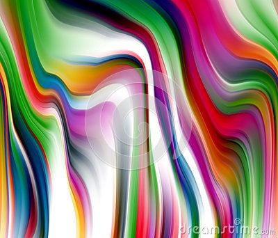 Mysterious colorful romantic background in blue, yellow, white, gray, green, violet and dark hues. Abstract background.