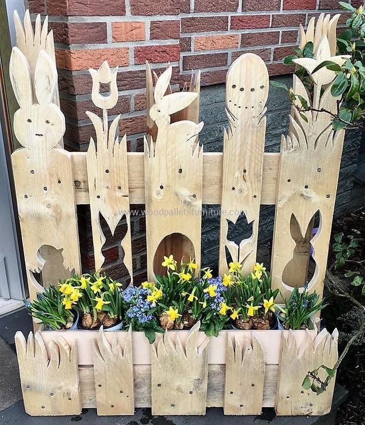 Magnificent DIY Pallet Wood Reusing Ideas