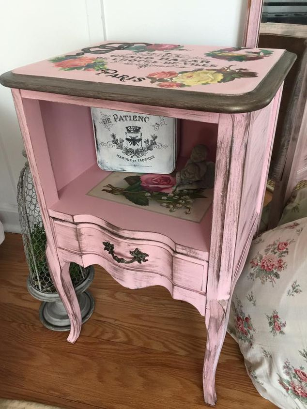 fab furniture flipping contest country chic paint bling bling , painted furniture