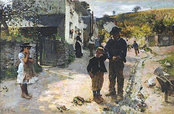 The Plagues Of His Village Plagene I Hans Landsby With Images Fine Art Art Uk Painting