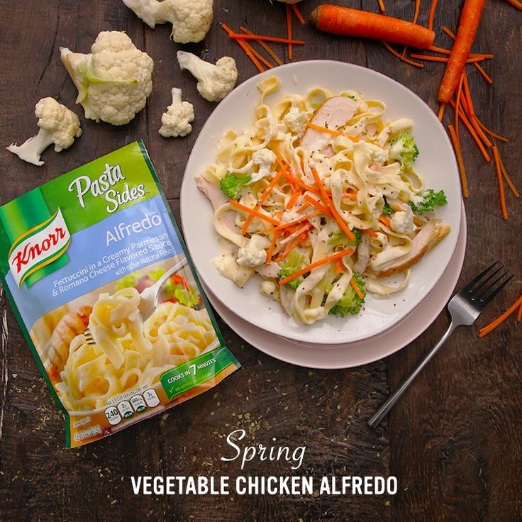 how to make knorr pasta sides alfredo