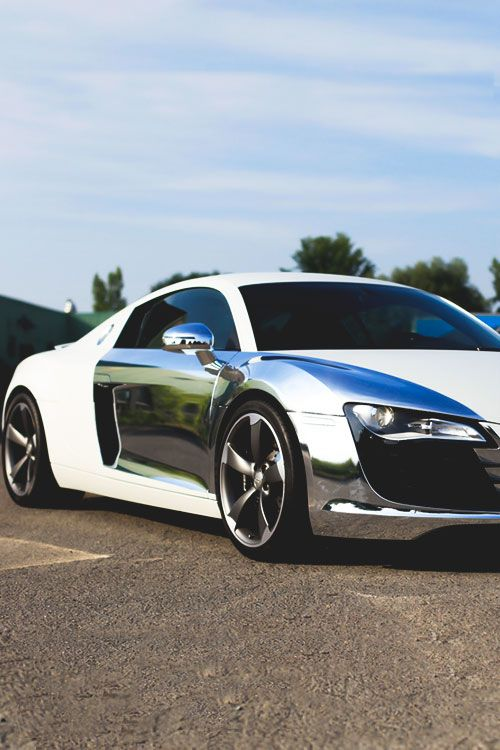 Chrome Plated Audi R8
