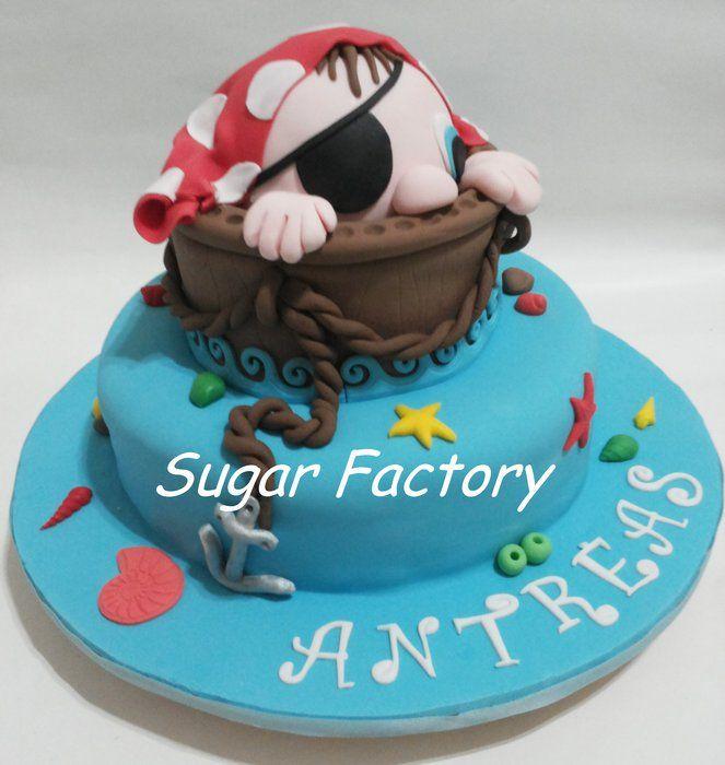 Pirate themed Christening - by SugarFactory @ CakesDecor ...
