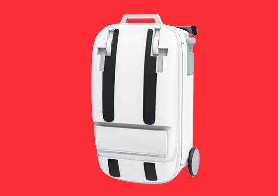 Une valise pratique pour les jeunes parents : à la fois valise, table à langer, transat fixe ou à bascule, baignoire et transat en hauteur, berceau ! Génial !