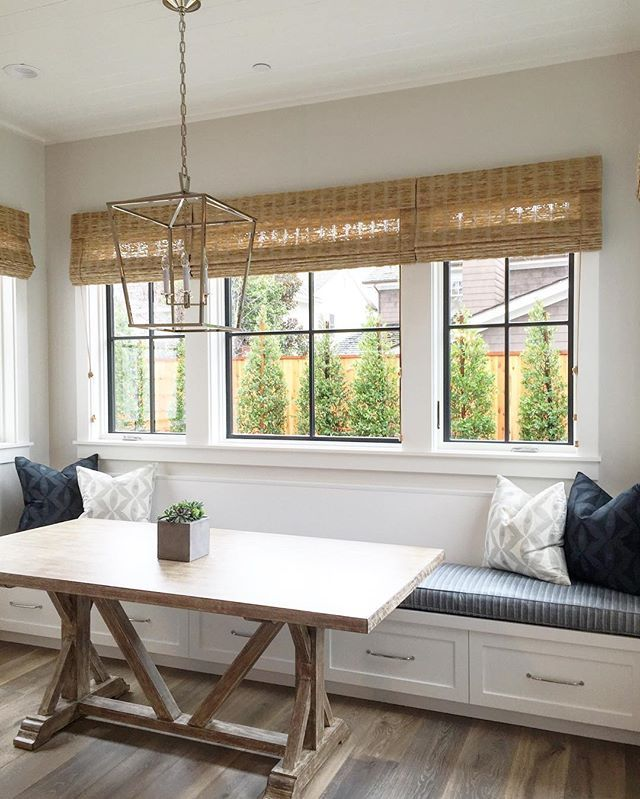 Kitchen Nook Lighting Hanging Lights Keepin It Light And Bright In This Letintheligjt Morningnook Bwd Interiors New Digs Decor