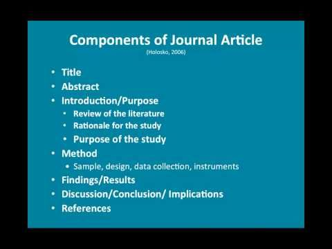 thesis review literature