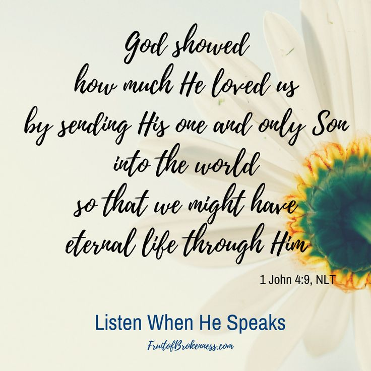 Listen When He Speaksis a daily Scripture reading and writing plan, with a monthly theme. The April list is live! Are you signed up?