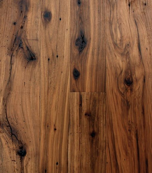 antique hickory floor through out family room, kitchen, dining room, laundry and bathroom