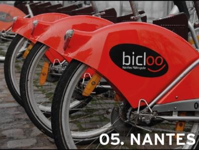 5. Nantes, France (tie)