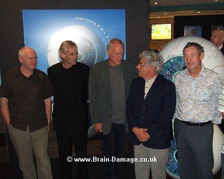Pink Floyd Members | Pink Floyd news :: Brain Damage - Pink Floyd's PULSE DVD - official ...