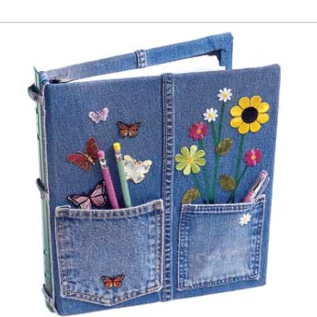 Recycled jeans idea