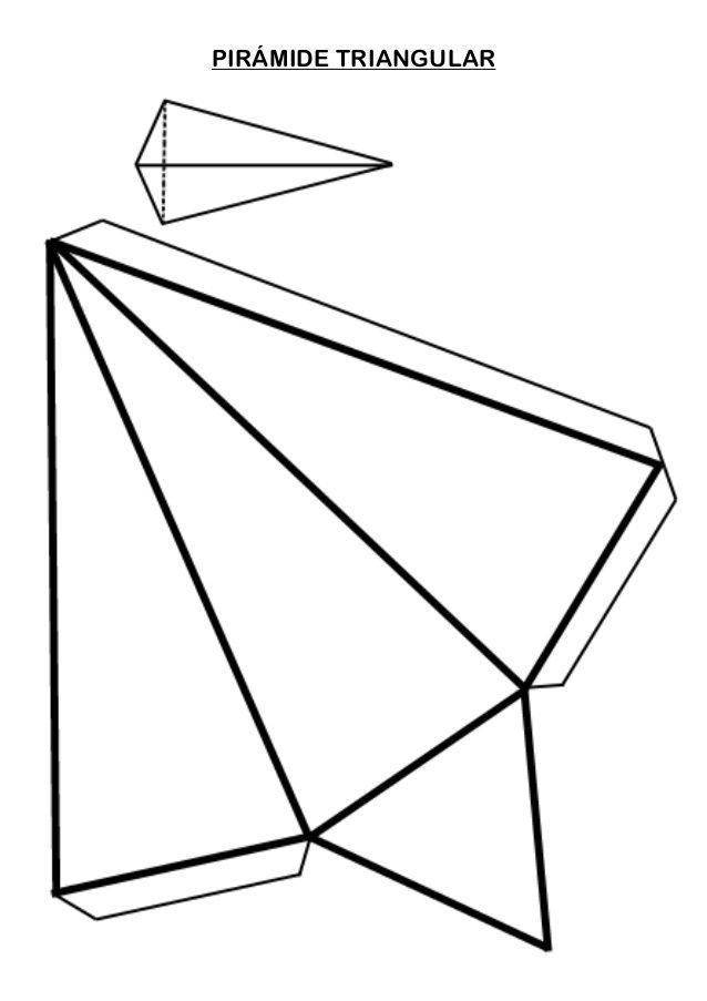 Piramide Triangular Triangulo Artes Piramides
