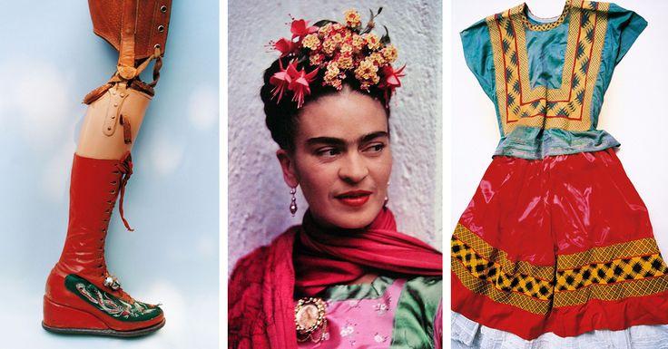 After her death in 1954, Frida Kahlos husband locked away her belongings in a bathroom. This makeshift Frida Kahlo closet remained sealed until 2004.