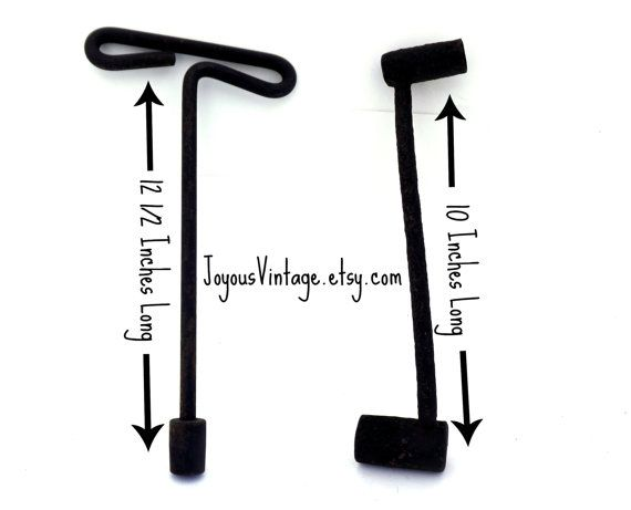 Old Tire Lug Wrenches Steampunk Man Cave Decor by JoyousVintage, $15.00
