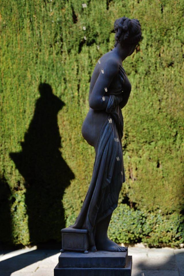 Cuando visitéis el Patio de Venus os recibirá, justo en el centro, la escultura de Venus por la que recibe el nombre. ¿Sabías que es una copia de la Venus Itálica de Antonio Canova? https://www.youtube.com/watch?v=BhuqEY5OYVQ Foto: Antonio Maldonado