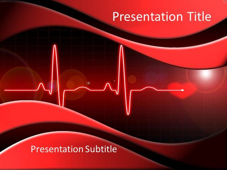 34 best power point slides images on pinterest for Cardiac ppt template