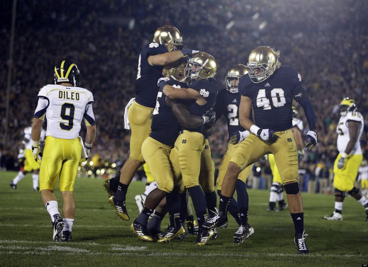 Notre Dame Football #kendrascott #teamKS
